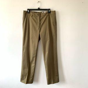 Yves Saint Laurent Straight Leg Trousers Pants 42